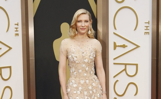 Oscars 2014 robe Cate Blanchett