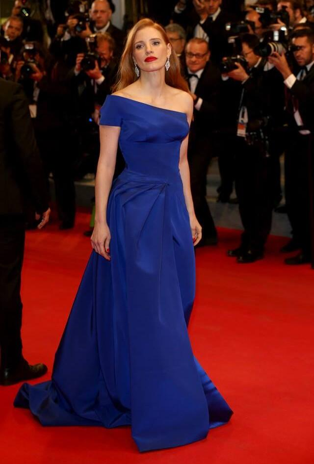 Jessica Chastain dress Versace