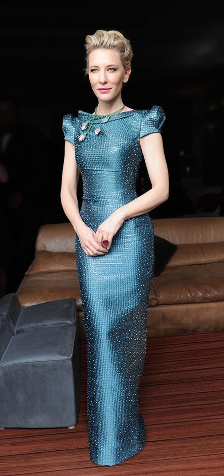 Cate Blanchett sexy dress Armani