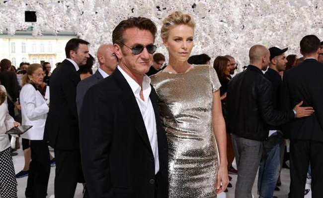 Charlize Theron Sean Penn couple