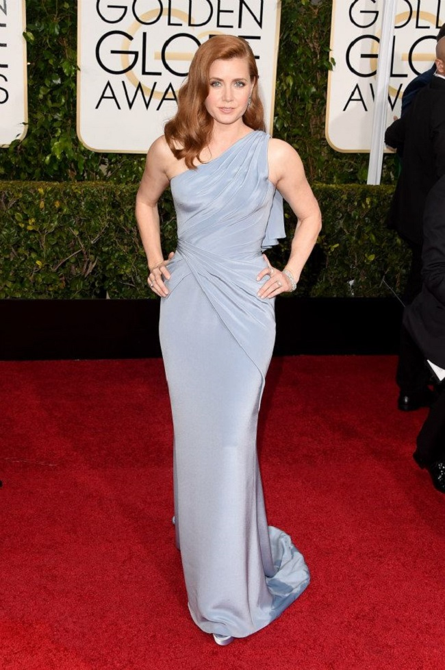 Amy Adams robe Golden Globes 2015