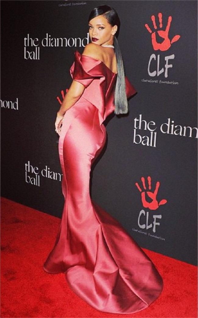 Rihanna au Diamond Ball