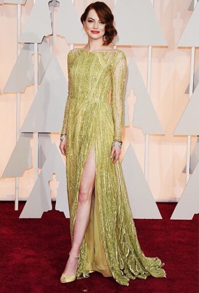 Emma Stone aux Oscars 2015
