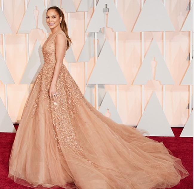 Jennifer Lopez aux Oscars 2015