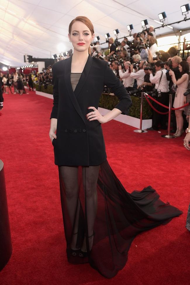 Emma Stone aux SAG 2015