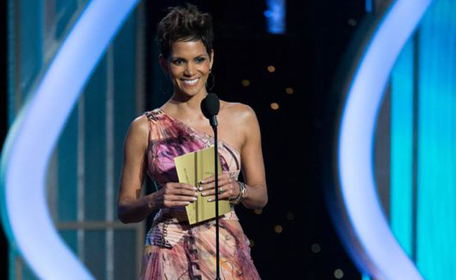 Halle Berry aux Golden Globes 2013