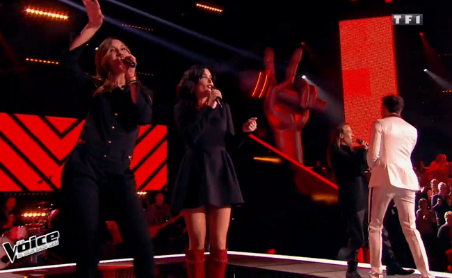 Les looks de Zazie et Jenifer lors des auditions à l'aveugle de The Voice 2015