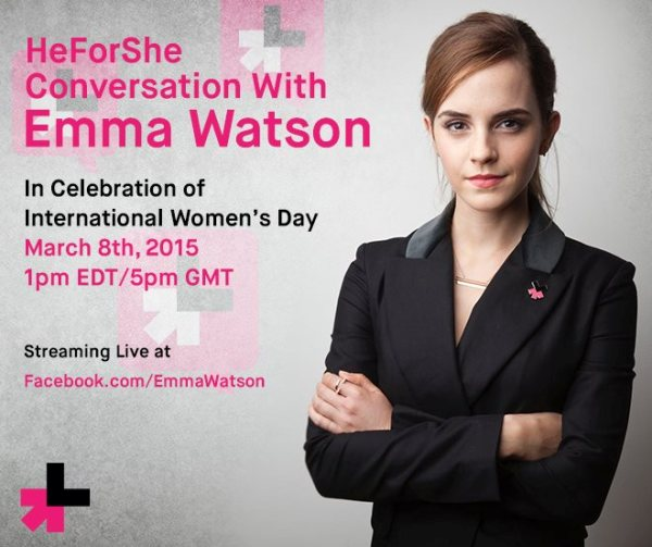 Emma Watson pour HeForShe