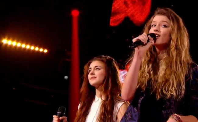 Devi affronte Manon Palmer The voice