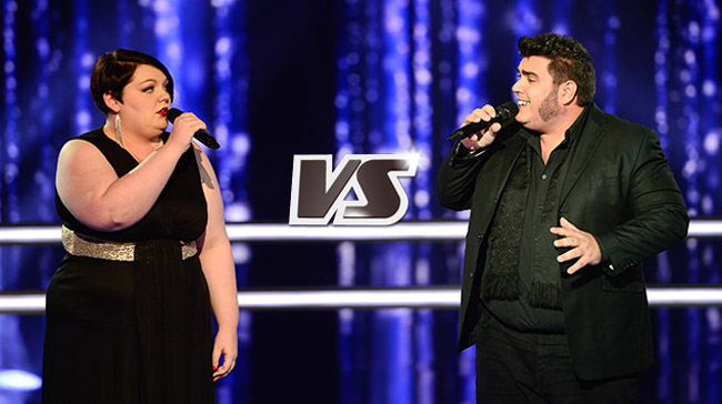 Mathilde contre Yoann The voice