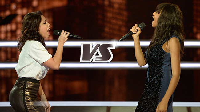 Awa Sy contre Fanny Mendes the voice