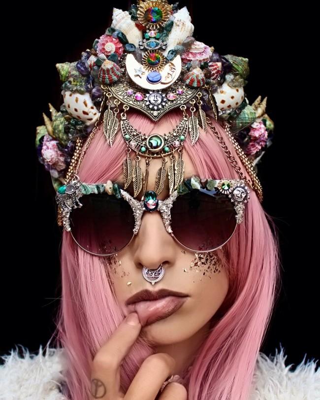 Mermaid Crown © Chelsea's flowercrowns